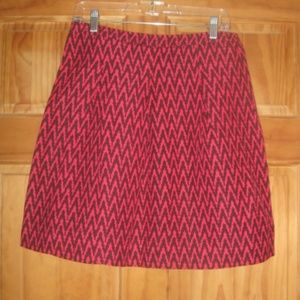 Womens Ann Taylor LOFT Patterned Skirt